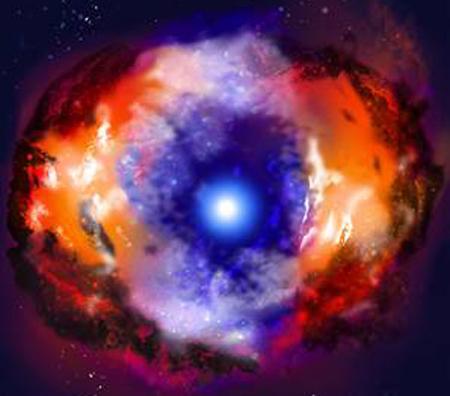 Una niña de 10 años descubre una supernova — Caramelos de Violetas